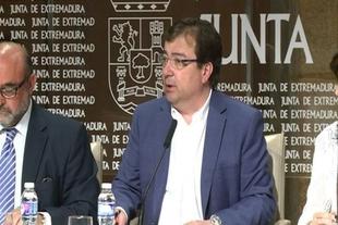 Vara espera que Rajoy visite la regi�n con la DIA de la Plataforma Log�stica y de la mina Aguablanca ''debajo del brazo''