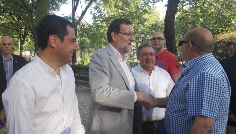 Rajoy acude este jueves a ''feudos socialistas'' de Andaluc�a y Extremadura con actos en Huelva, Badajoz y Sevilla