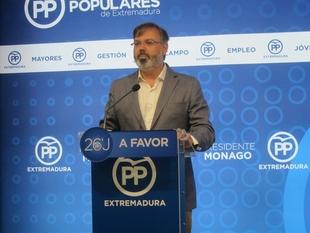 El PP extreme�o advierte de que otro 'no' a Rajoy ser�a