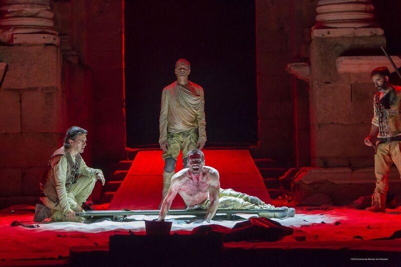 Toni Cant� interpreta al Aquiles m�s humano y sufridor en el cuarto estreno del Festival de M�rida