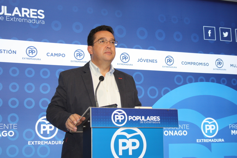 El PP espera una semana de sensatez pol�tica y altura de miras para Espa�a y Extremadura