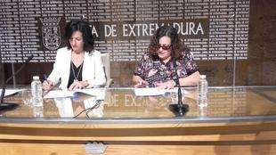 Un convenio entre la Junta y ONCE posibilitar� la inclusi�n educativa de alumnos extreme�os con discapacidad visual