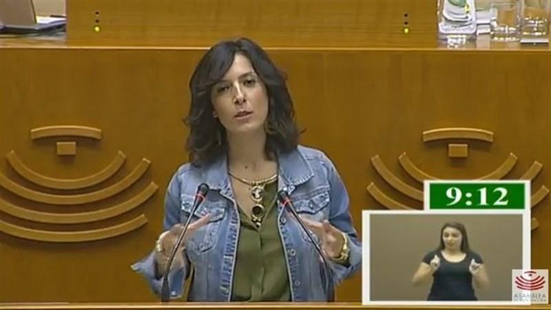 Esther Guti�rrez plantea una ''reflexi�n abierta'' en la Asamblea sobre Educaci�n para el nuevo curso escolar
