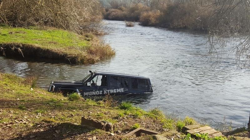 El cadáver de la mujer ha aparecido en el río Tiétar a tres kilómetros del lugar del accidente