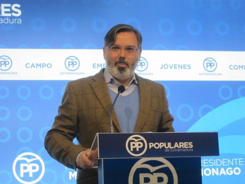 El PP extremeño pide incrementar las garantías de cumplimiento de sus enmiendas parciales