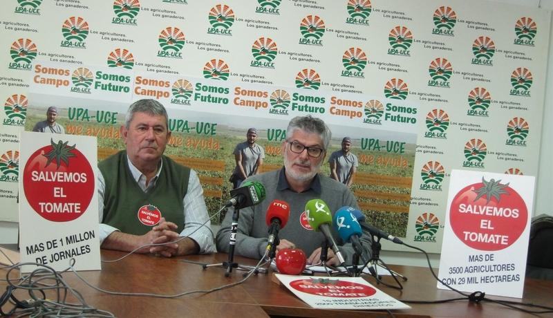 Ramos (UPA) se felicita por la liberación de Huertas y Alcón y espera que ''en pocos días'' se incorporen a su actividad