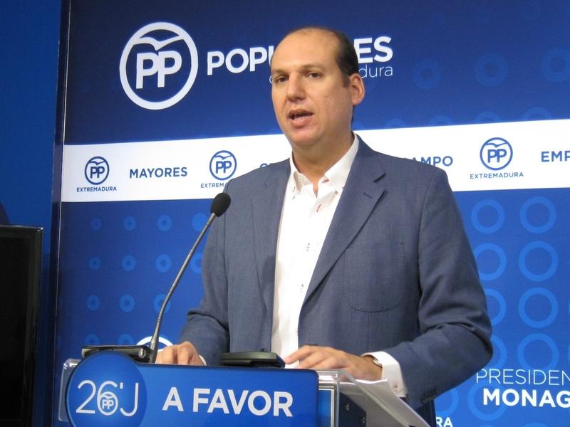 Carrón (PP) insta al consejero de Economía a explicar si la propietaria de Aguablanca tiene interés en su explotación