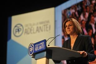 María Dolores de Cospedal asistirá al congreso del PP de Extremadura