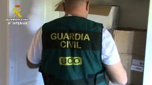 Detenidos siete integrantes de un grupo dedicado a robos en cajas fuertes de bancos en zonas como Extremadura