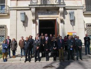 La delegada del Gobierno en Extremadura aboga por ''permanecer unidos ante un terrorismo que no conoce fronteras''