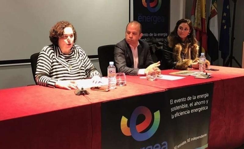 Begoña García señala que el modelo extremeño de economía verde y circular