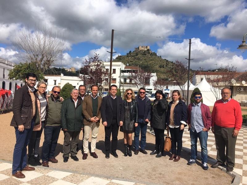 El PP de Extremadura reclama un ''cambio de políticas y personas'' en la Consejería de Políticas Agrarias