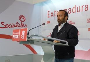 El PSOE pide ''complicidad'' a ''todos'' los partidos para ''defender'' a Extremadura de los ''agravios comparativos'' de Rajoy