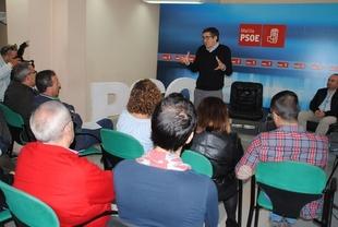 Patxi López advierte de que ''da igual quién gane'' si después del congreso de junio ''sale un PSOE dividido''