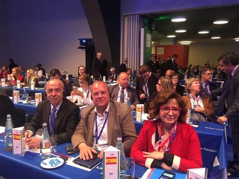 Monago destaca la importancia de ''mantenerse unidos'' en torno al ''proyecto europeo'' para evitar ''desafección'' ciudadana