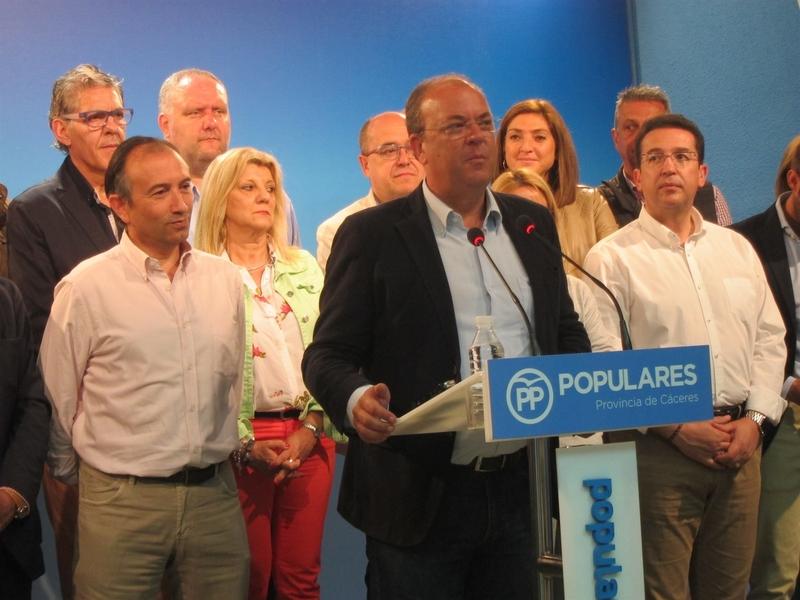 Monago ''respeta'' la decisión judicial de que Rajoy comparezca como testigo en el 'Caso Gürtel' pero ''no la comparte''