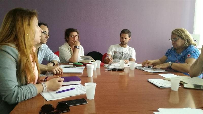 La ruta de Podemos 'Imaginando un país de países' llega a Extremadura