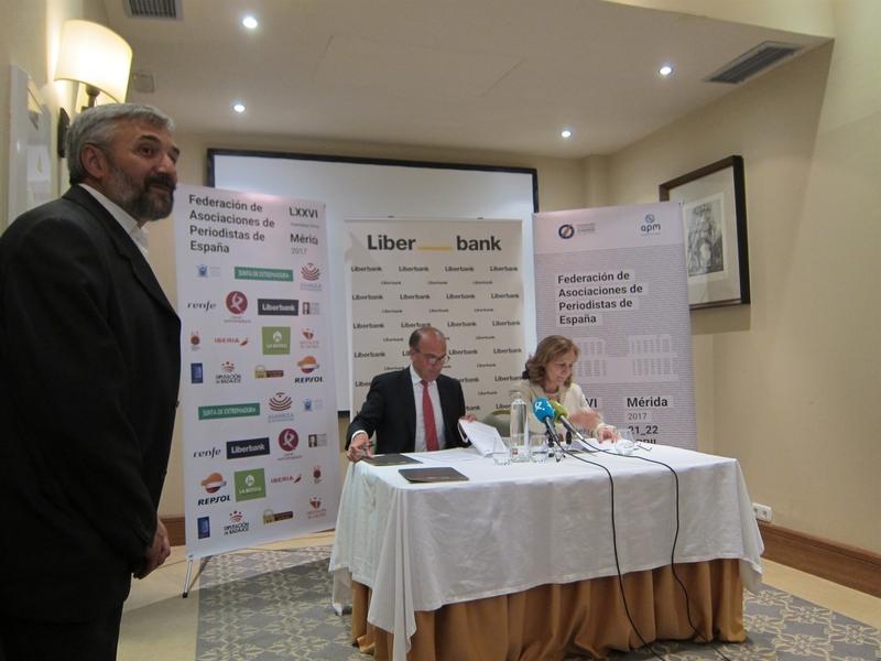 Liberbank facilitará a las asociaciones de periodistas la contratación de producto financiero en condiciones ventajosas