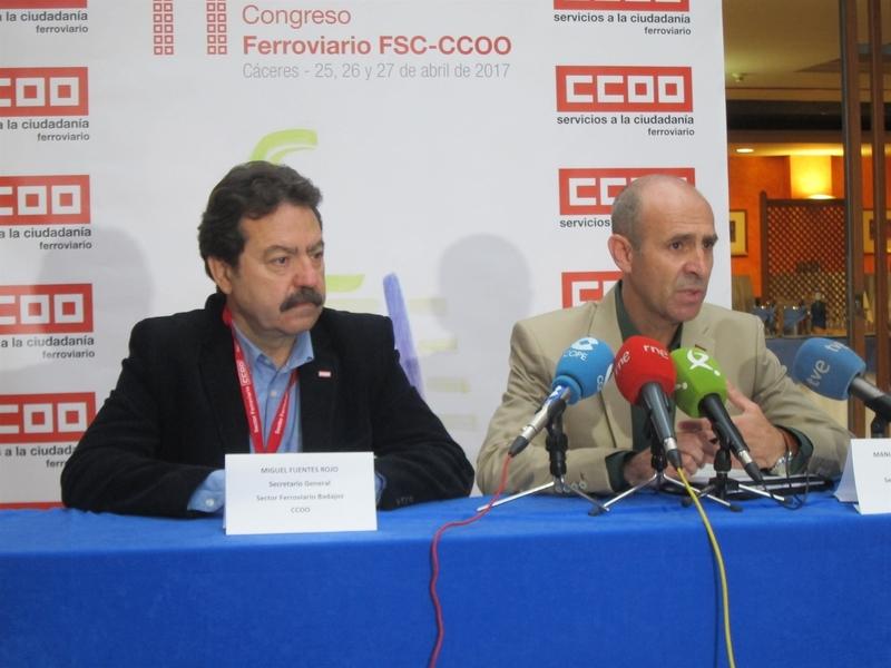 La situación del ferrocarril en Extremadura es la más deficiente de España, según CCOO