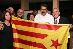Fernández Vara, sobre la foto de Maduro con la estelada: ''La vergüenza no tiene límites''