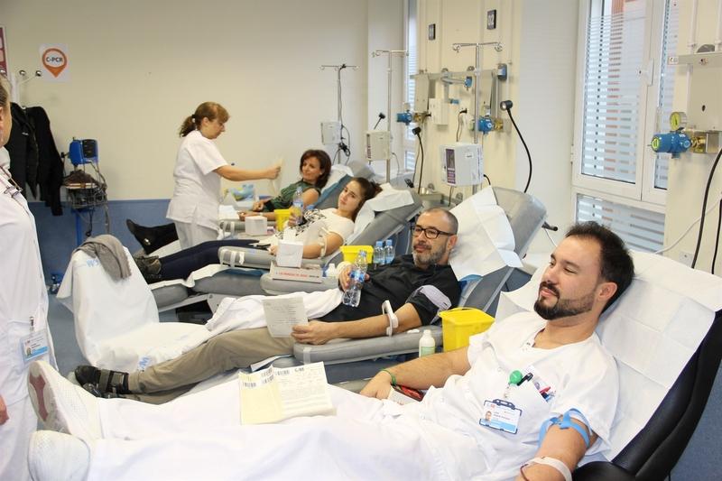 Los equipos del Banco de Sangre de Extremadura realizarán 70 colectas por toda la región en mayo
