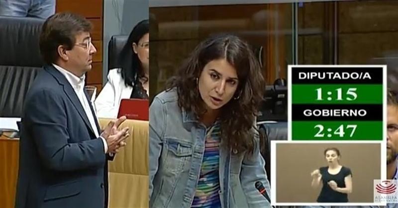 Vara cree que la moción de censura a Rajoy se da porque ''la verdad'' de no apoyar un gobierno del PSOE persigue a Podemos