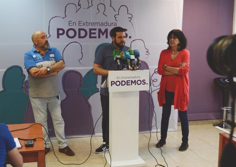 Podemos reclama a la Junta que se paralicen todos los desahucios de vivienda social en Extremadura