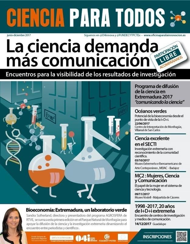 La Junta de Extremadura pone en marcha el programa 'Ciencia para Todos' para dar visibilidad a la I+D+i extremeña