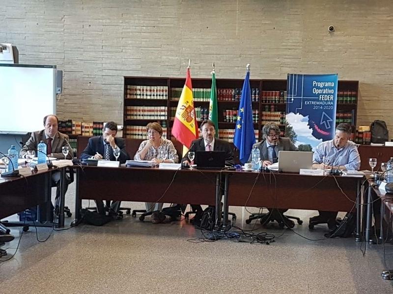 La Junta celebra la cuarta reunión del Comité de Seguimiento del Programa Operativo del FEDER vigente hasta el año 2020