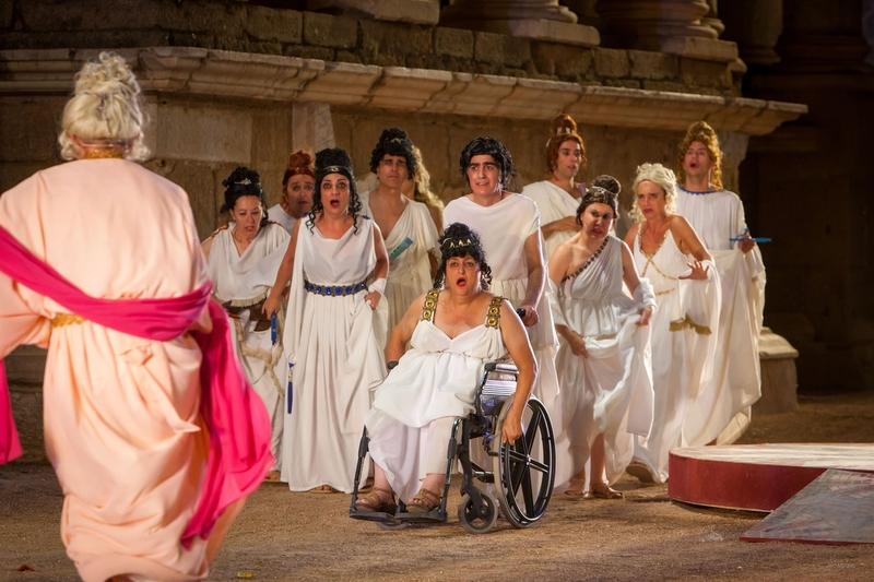 Los espectáculos del Festival de Teatro de Mérida serán accesibles para discapacitados sensoriales