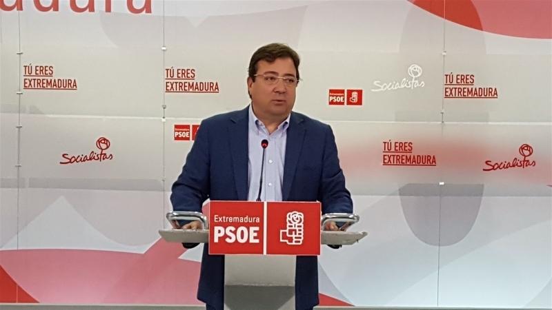 El PSOE de Extremadura prevé celebrar sus primarias el 23 de julio