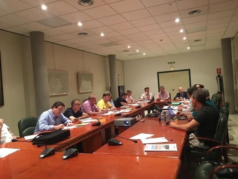 La Junta aborda con el grupo de trabajo de seguros agrarios mejorar la compensación por pérdida de pastos