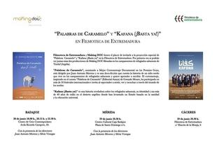 La Filmoteca de Extremadura estrena esta semana dos documentales rodados en los campamentos saharauis