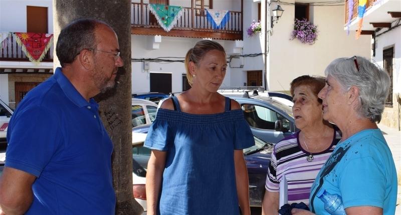 Monago pide que la Junta habilite una partida del fondo de contingencia para arreglar los daños en Valverde de la Vera