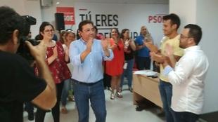 Fernández Vara gana las primarias del PSOE de Extremadura con el 66,8% de los votos de los militantes