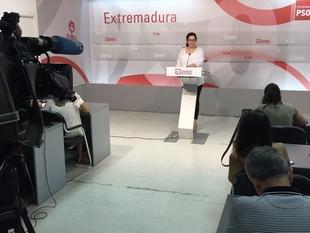 El PSOE de Extremadura espera que Rajoy dé explicaciones ''claras y contundentes'' que ''esclarezcan la financiación de PP''