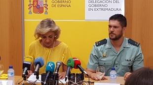 La Guardia Civil vigilará los fines de semana seis rutas en Extremadura para proteger a los ciclistas