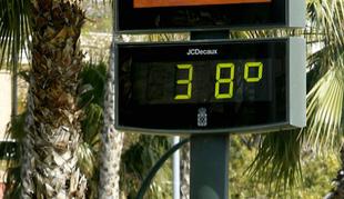 Extremadura estará en aviso amarillo por altas temperaturas, que podrán alcanzar 38ºC en algunos puntos