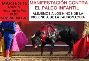 Ecologistas Extremadura crítica la promoción de la tauromaquia en niños con dinero público
