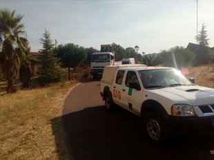 Extremadura envía medios técnicos y humanos de apoyo a la zona de los incendios de Castelo Blanco