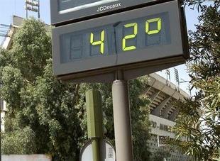 Los termómetros subirán esta semana y se esperan valores altos en el sur, donde se alcanzarán los 42ºC
