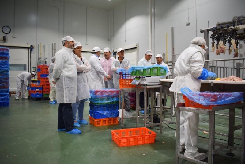 Monago reafirma su apuesta por el sector agroindustrial como motor de desarrollo de la región