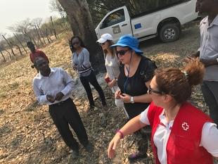 La consejera de Políticas Agrarias visita las regiones del norte de Namibia