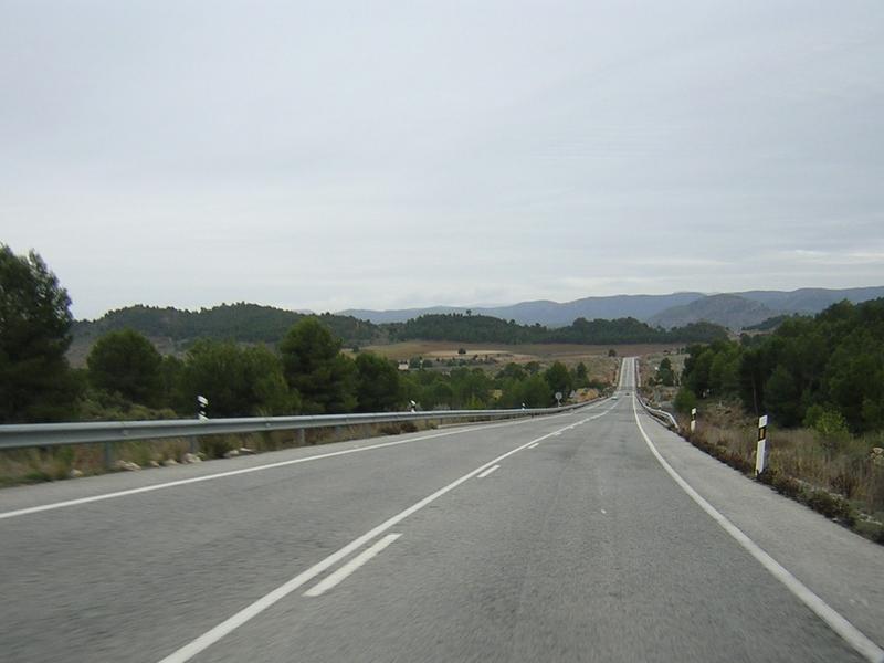 Dos heridos en las carreteras extremeñas durante el fin de semana