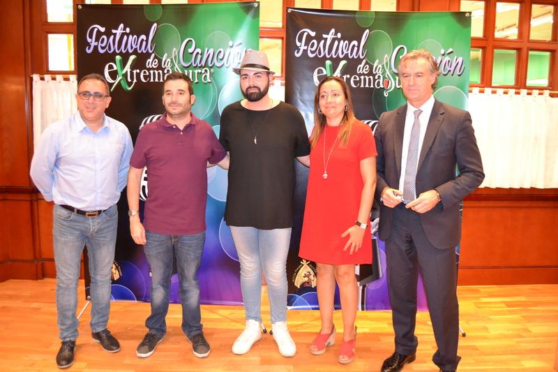 El Festival de la Canción de Extremadura 2017 se pone en marcha con su presentación oficial