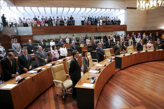Los regadíos, la banda ancha y el Impuesto de Sucesiones, a debate este miércoles en el pleno de la Asamblea