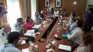 Herrera destaca la coordinación entre administraciones y organizaciones agrarias para seguir bajando el número de robos de aceituna