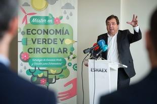 Fernández Vara aboga por una política que afronte los desafíos y no solo solucione los problemas