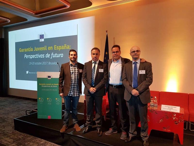 Extremadura aborda en Bruselas los desafíos a los que se enfrenta la juventud en el ámbito del empleo