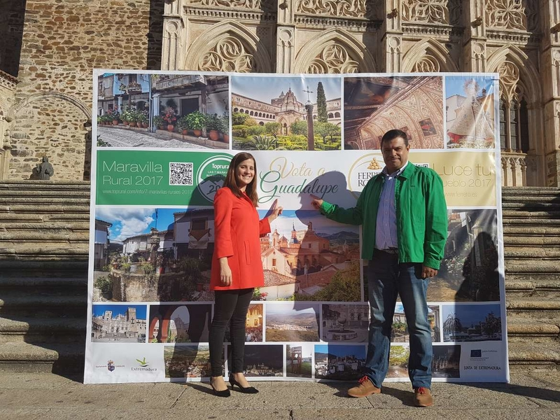 La Junta de Extremadura apoya la candidatura de Guadalupe como pueblo más bueno y bello de España